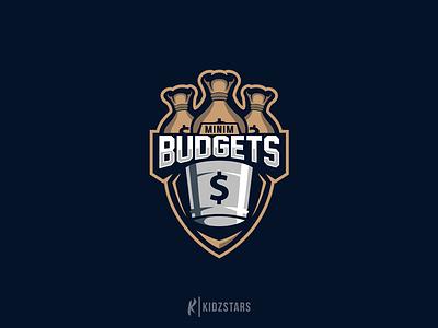 Minim Budgets ( Logo For Sale ) budgets esport design illustration gaming logo sport logo esport logo logo design