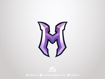 M Lettermark Logo For Sale
