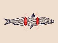 Emo Fish Tattoo