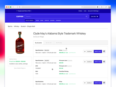 Untitled 1.wmv web ecommerce cart wholesale shop alcohol admin ui