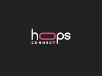 Hoops Connect Logo Design