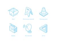Isometric icon