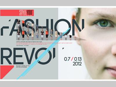 Styleyou Poster styleyou poster joshuaz corporate identity graphics graphic design fashion