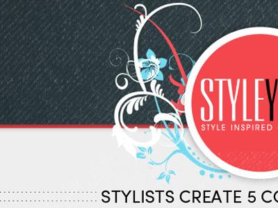 Styleyou Landing Page landing page web design swirls denim joshuaz design website