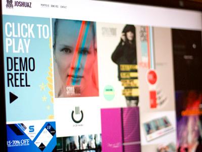 Joshuaz Portfolio / Website website portfolio motion graphics design poster inspiration gallery