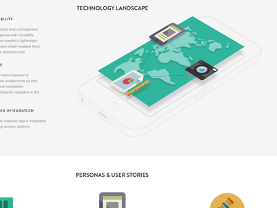 Website Infographic website casestudy info infographic flat web site ui iphone ios android icons technology layout design ux graphic world phone chart camera ipad tablet konrad group