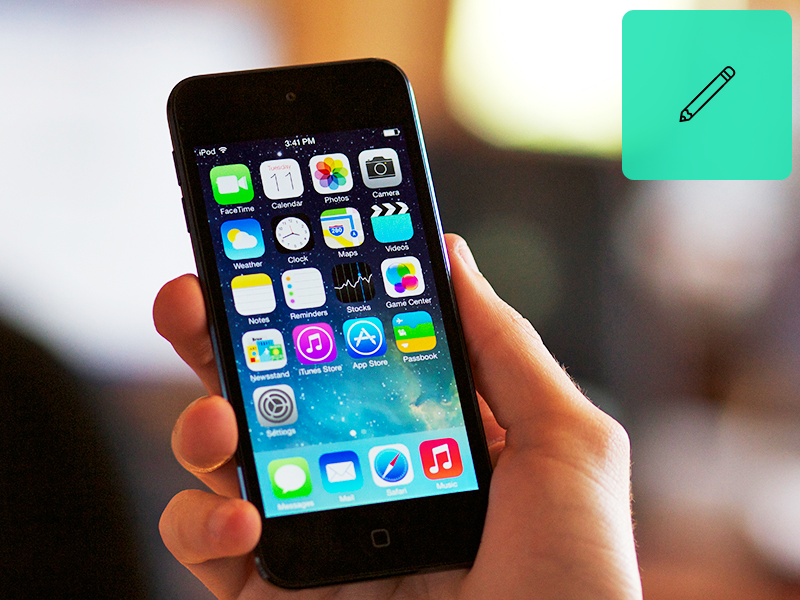 Thought On iOS 7 icon icons blog thoughts feedback ios ios7 7 apple iphone ipad ipod design konrad group