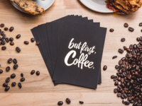 Gold Coffee Cards
