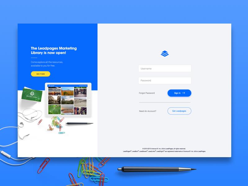 Web De Homepage Login