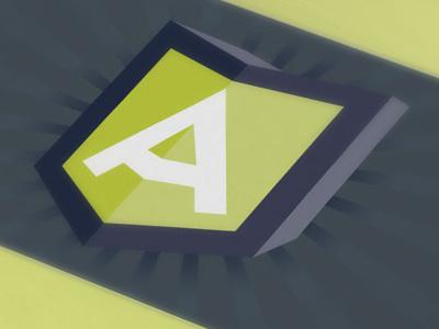 Anoroc Logo logo branding business cards super hero neon