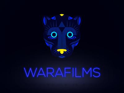 Warafilms Keyvisual nogochi neon african panther movie logo production