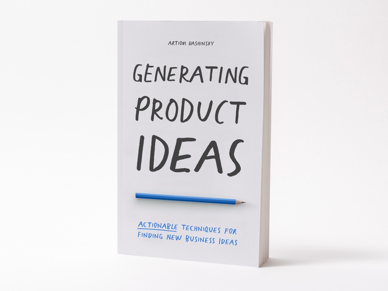 """""""Generating Product Ideas"""" Book business ideas book cover cover book"""