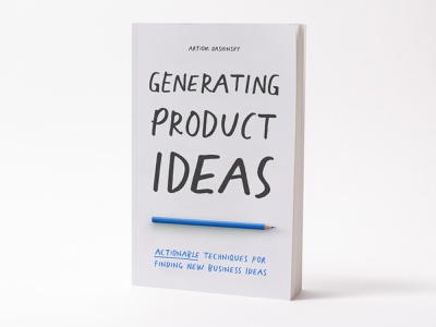 """Generating Product Ideas"" Book business ideas book cover cover book"