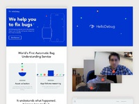 Hellodebug   website  branding
