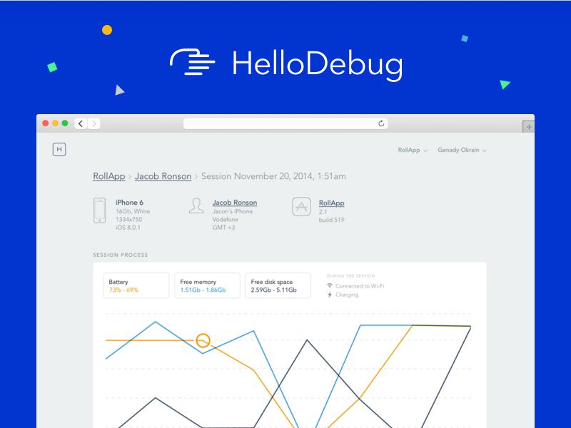HelloDebug (2014) saas debug developer tool debugging