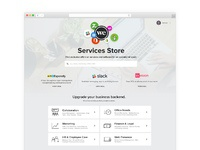 Wework services store   home