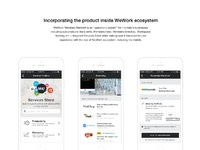 Wework services store   mobile