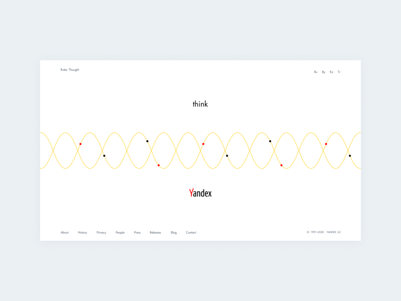 Concept Yandex Think