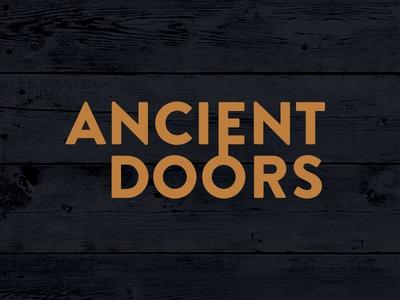 Ancient Doors Type (Key) unlock lock close open type logo wood key hidden doors