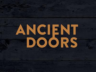 Ancient Doors Type (Key) unlock lock close open type logo wood key hidden doors