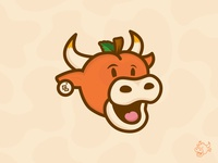 Just Peachy Cow