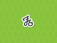 Fair Economy Script (WIP) branding logo symbol currency money finance logotype