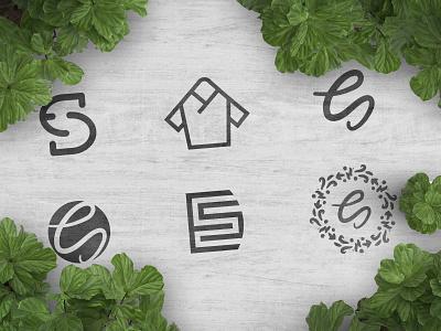 Pick 1 monogram doctor scrubs scrub design mark vector illustration branding brand logo