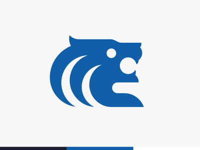 surfing lion logo
