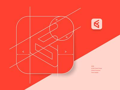 Wallet Logo fraction promo discount f coupons digital deals offers minimalist it design startup wallet flat app logo