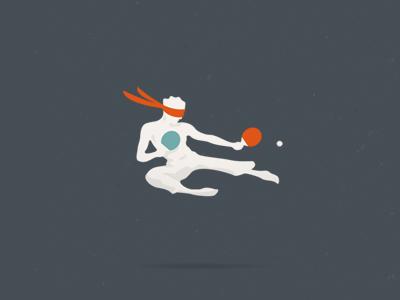 blind pong logo blind blindpong jump karate logo mechanism ninja ping pong roulette tenis