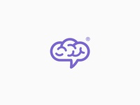 brain & cloud logo