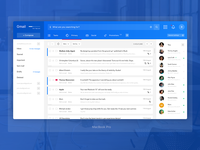 Gmail web Redesign