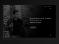 Bonaefidei London - Landing page