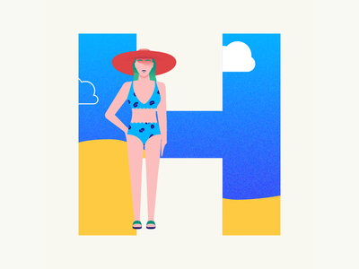 36 days of type | Letter H hats hat 36days-h 36days-adobe 36daysoftype06 36daysoftype vector typography after effects wacom intuos after effects animation animation graphic illustration design illustrator graphic design