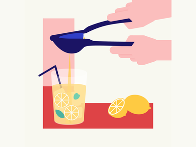 36 days of type | Letter L lemonade lemon 36days-l 36days-adobe 36daysoftype06 36daysoftype vector typography after effects wacom intuos after effects animation animation graphic illustration design illustrator graphic design