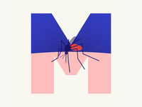 36 days of type | Letter M