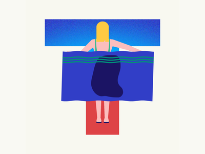 36 days of type | Letter T wet towel summer vibes summer 36days-t 36days-adobe 36daysoftype06 36daysoftype vector typography wacom intuos illustration design graphic illustrator graphic design