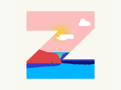 36 days of type | Letter Z cliff zawn 36 days of type 36days-z 36days-adobe 36daysoftype06 36daysoftype vector typography wacom intuos illustration illustrator design graphic graphic design