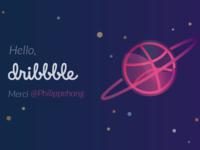 Hello planet dribbble!