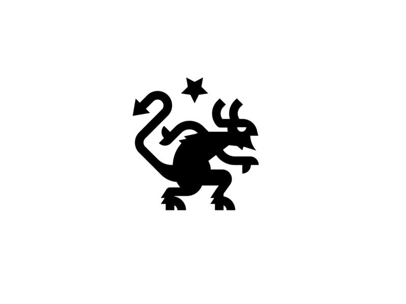 Clove 'n' Hoof Co. branding clove hoof ui flat logo devil