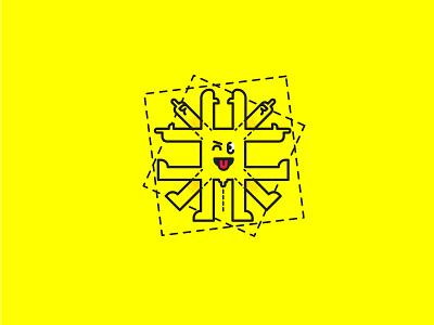 The Vitruvian Emoji leonardo tongue doodle emojiexperts emoji set modern art da vinci nsfw idk vitruvian emoji