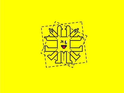 The Vitruvian Emoji