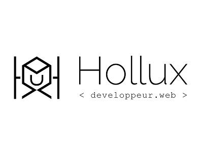 Hollux logo graphisme graphic design logotype