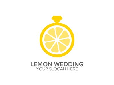 Lemon Wedding Logo