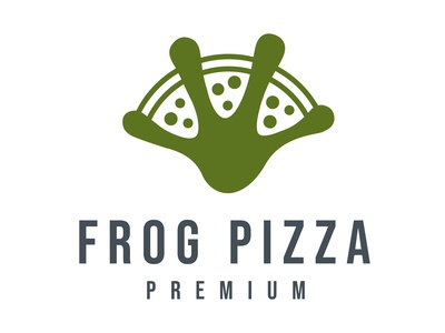 Frog Pizza Logo