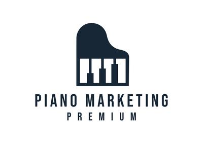 Piano Marketing Logo