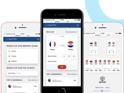 World Cup Football Tips web app