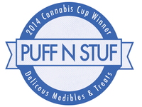 Logo Concept for Edible Brand - Puff n Stuf