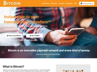 Weekly Redesigns - Bitcoin.org