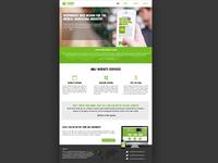 Website Mockup - MMJ Design